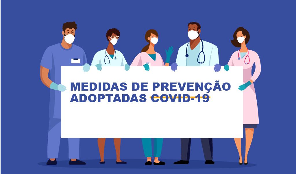 Medidas de Prevenção Adoptadas COVID-19